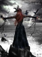 Queen of the Storm by darkart84