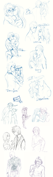 Misc sketchdump by l-lostboy