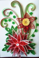 Quilling-red-flower-card-1 by boliarka