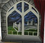 Castle Out the Window by BlewSkyMoon