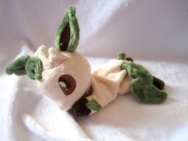 Leafeon Beanie Baby by FollyLolly