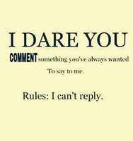 will read all of it so comment if you can by Mikage-YoshinoAnerin