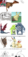 Pokemon Compilation 10 by umbbe