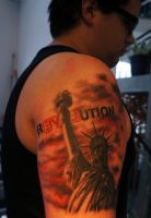 Revolution Tattoo II by t-o-n-e