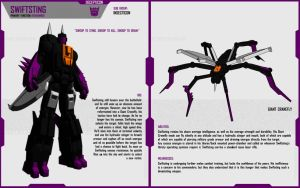 INSECTICON SWIFTSTING by F-for-feasant-design