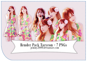 [Render Pack] Taeyeon SNSD in BOWP - 7 PNGs by jemmy2000