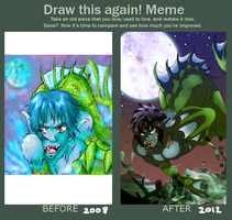 Before and After Meme by Manicfool
