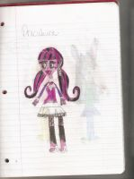 MH: Draculaura Colored by choco-latte-squirrel