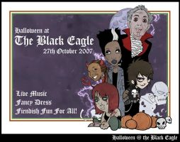 Halloween at the Black Eagle by CitizenWolfie