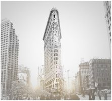 NYC Flatiron by crunklen