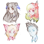:COM: Headshot 8th Batch by AngelicsMana