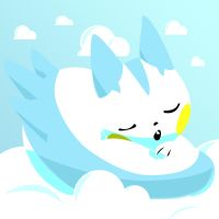 Sleepy Pachirisu by GiantEvilPizza