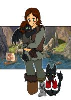 Hiccup's Little Brood by IllusionEvenstar