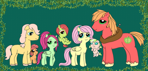 (OLD) Fluttermac Family by PurfectPrincessGirl