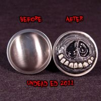 Tim Burton Styled Ghost knob C by Undead-Art