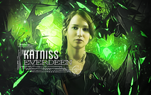 Katniss by Yazkaron