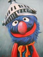 Super Grover by wytrab8