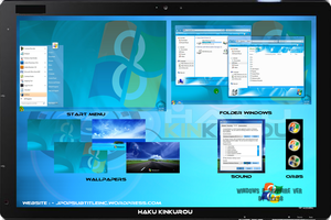 [ 2011 theme ] Windows 8 Sapphire by HKK98