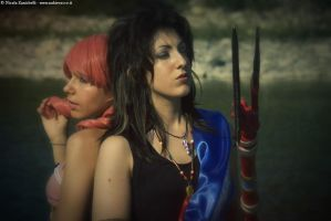 FF XIII Cosplay: Fang and Vanille by UndiciSmaug