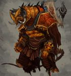 Charr flame Honour Guard by Lukotka