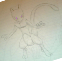 Mewtwo by Ragnarode