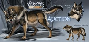 Hunky wolf auction: CLOSED by KFCemployee