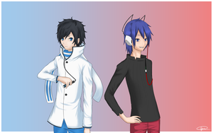 Devil Survivor Protagonists by Rhetoricalxx