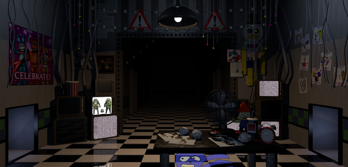 Office - FNaF 2 (References) by Rodri-14