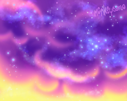 Cotton Clouds by Monkeytaillo