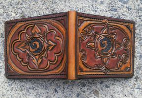 Hearthstone leather wallet full view by mooglestiltzkin