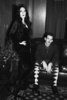 Morticia and Gomez Addams: Every Day Is Halloween by HarleyTheSirenxoxo