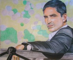 Jim Caviezel as John Reese by Schnellart