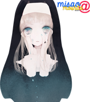 Sad Nun Render by MisaoMoshita