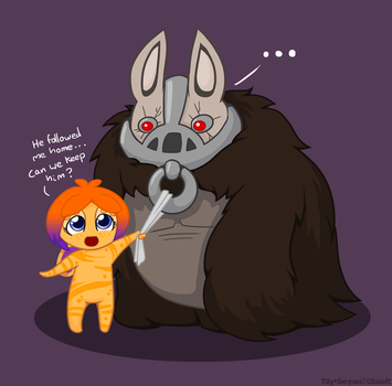 Tily's pet Bunny by raygirl
