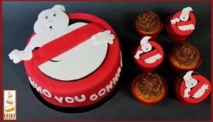 Ghostbusters Paint Cakes Cupcakes by Paintcakes
