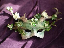 Dryad Mask by DuskDiamond