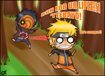 Tobi and the stick of DOOM by FancyPancakes