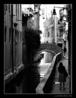 Narrow Canal IV by Luke-ro