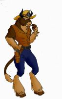 Stetson the bull. by AxelWolf04