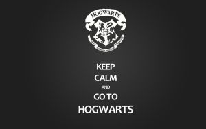 Keep calm: Hogwarts wallpaper by takegasuki