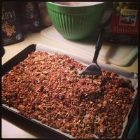 Homemade Toasted Granola by Deathbypuddle