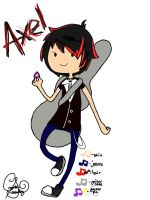 Adventure Time OC: Axel by Crystalz8D