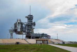 Launch Pad 39A - Space Shuttle Configuration by TomFawls