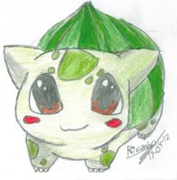 bulbasaur by Garudamin