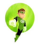 green lantern by mikeorion22