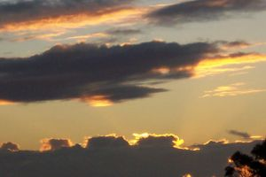 Sunset and Clouds - Number 2 by bisi