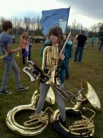 I'm in the Marching Band by Kyla-Nadie