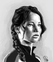 The Hunger Games_Katniss by joanap