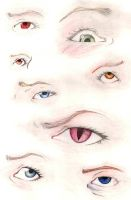 Drawing eyes by mateussanchessouza