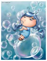 Bubble Fairy by LiaSelina